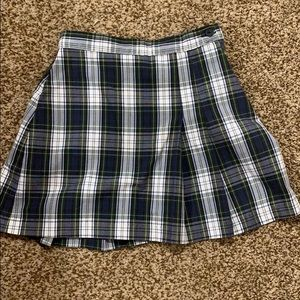 Other - Plaid uniform skirt